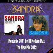 YS504SS SANDRA - Megamix 2011 & The New Mix 2012