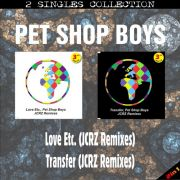 YS329SS PET SHOP BOYS - Love Etc. (JCRZ Remixes) & Transfer (JCRZ Remixes)